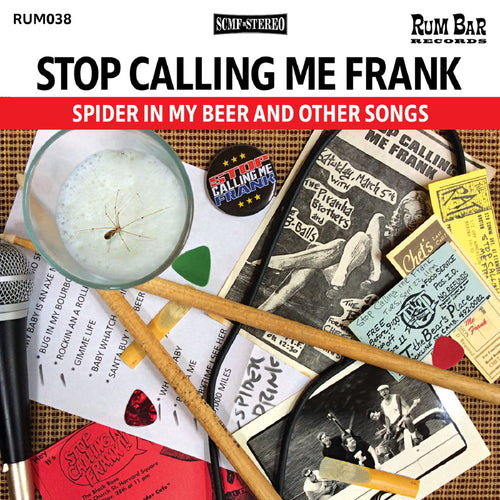Stop Calling Me Frank- Spider In My Beer LP ~THE LYRES!