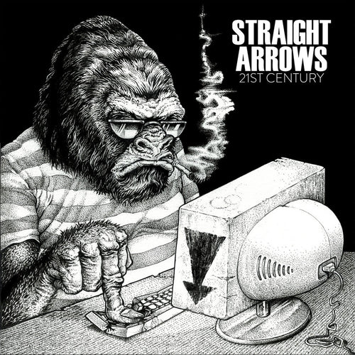 "Straight Arrows- 21st Century 7"" ~LIMITED TO 200 HAND NUMBERED COPIES!"