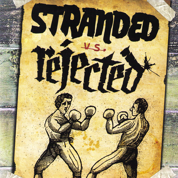 "Stranded/Rejected- Split 7"" ~TEMPLARS!"