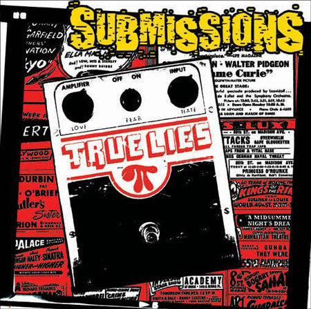 "SUBMISSIONS- True Lies 7"" ~OUT OF PRINT! - Zorch - Dead Beat Records"
