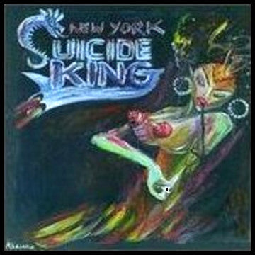 Suicide King- New York LP ~RARE PINK WAX! - Intensive Scare - Dead Beat Records