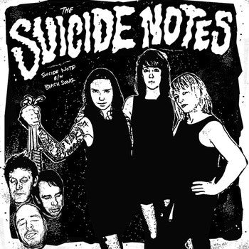 "Suicide Notes- S/T 7"" ~THE MUFFS! - Hovercraft - Dead Beat Records"