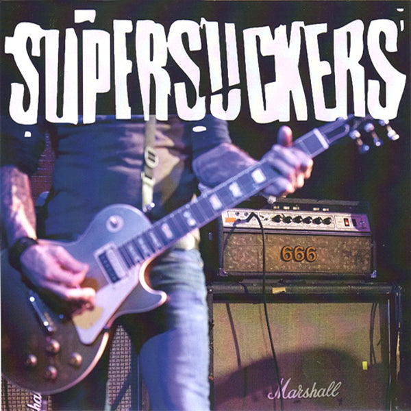 "Supersuckers- Get The Hell 7"" ~WHITE WAX LTD TO 400!"