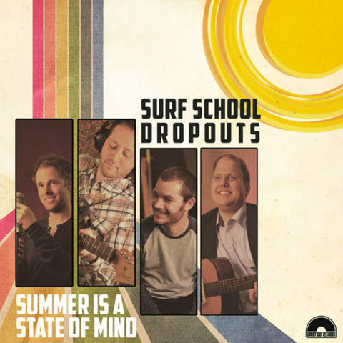 Surf School Dropouts- Summer Is A State Of Mind LP ~BEACH BOYS!