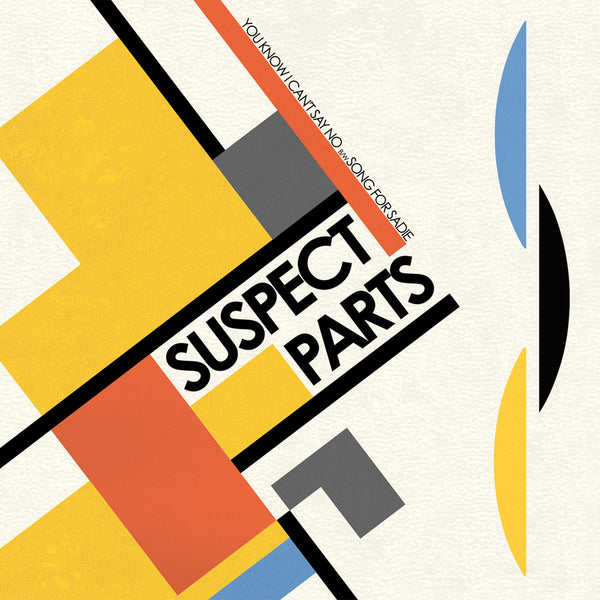 "Suspect Parts- You Know I Can't Say No 7"" ~WANDA RECORDS / EX BRIEFS!"