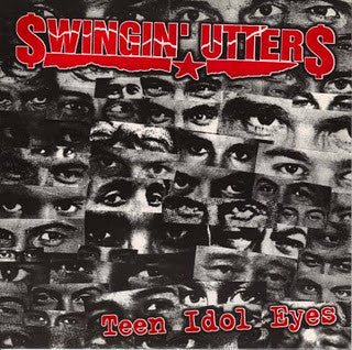 "Swingin' Utters- Teen Idol Eyes 7"" ~EARLY FROM 1999! - TKO - Dead Beat Records"