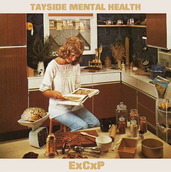 "Tayside Mental Health/Endometrium Cuntplow- Split 7"" LTD TO 500 - Scotch Tapes - Dead Beat Records"