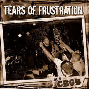 "Tears of Frustraion- S/T 7"" ~LIMITED TO 100 COPIES! - United Riot - Dead Beat Records"