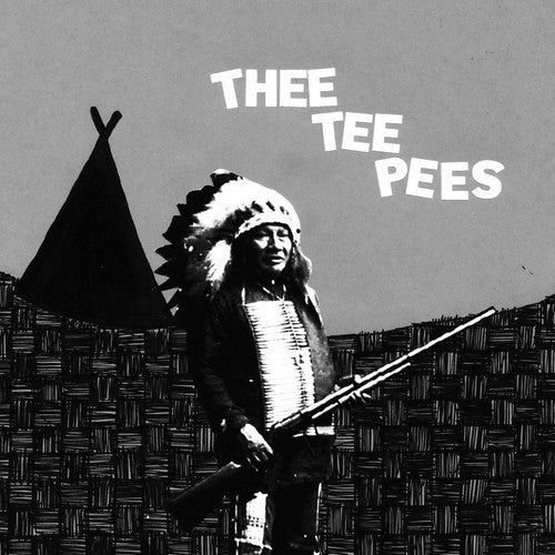 "Thee Tee Pees- You're A Turd 7"" ~THE MUMMIES! - Bachelor - Dead Beat Records"