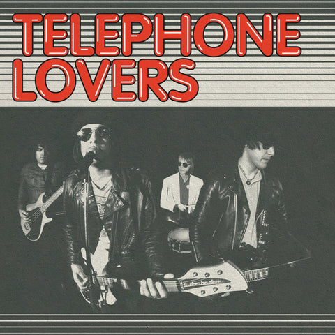 Telephone Lovers- S/T LP ~RARE LICORICE RED WAX!
