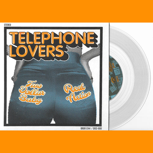 "Telephone Lovers- Two Dollar Baby 7"" ~RARE CLEAR WAX!"