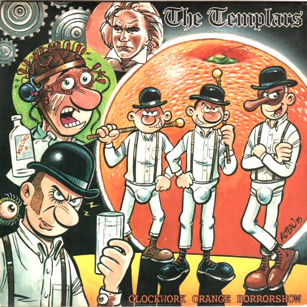 The Templars- Clockwork Orange Horrorshow CD ~REISSUE!