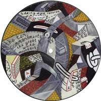 "Ten Commandments- Great White Mountain 7"" PICTURE DISC - Seeing Eye - Dead Beat Records"