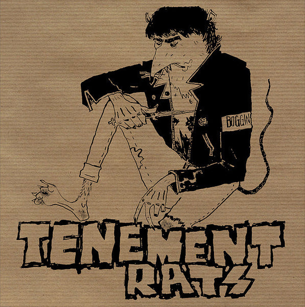"Tenement Rats- S/T 7"" ~ALTERNATE COVER LTD TO 100! - NO FRONT TEETH - Dead Beat Records"