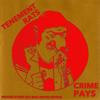 "Tenement Rats- Crime Pays 7"" ~RARE RECORD STORE DAY COVER LTD TO 20!"