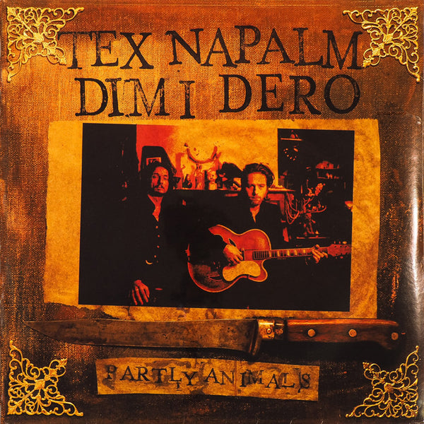 TEX NAPALM And DIMI DERO- Partly Animals LP ~HAUNTED GEORGE! - Beast - Dead Beat Records