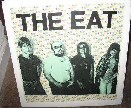 The Eat- Live At The Polish American Club LP ~REISSUE! - Cherry Garcia - Dead Beat Records