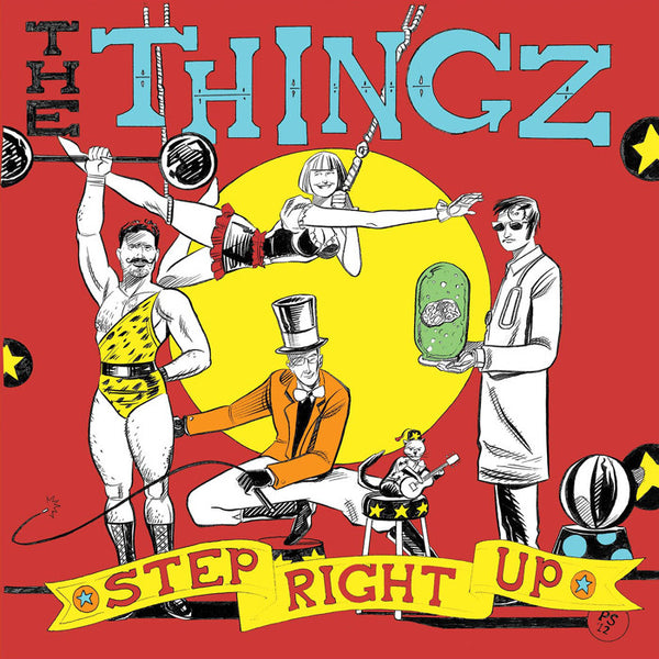 The Thingz- Step Right Up LP ~250 PRESSED! - Coffee Addict - Dead Beat Records