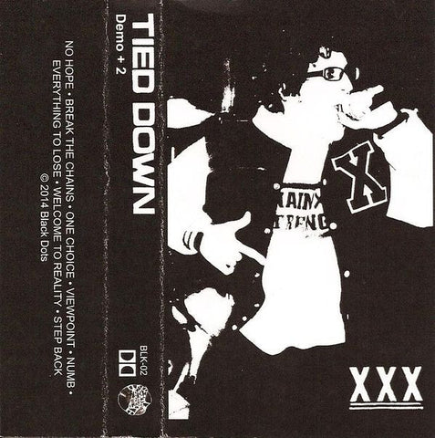 Tied Down- Demo + 2 CS ~YOUTH OF TODAY! - Black Dots - Dead Beat Records