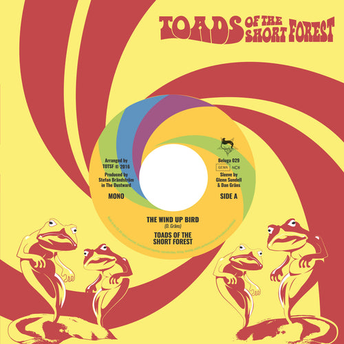 "Toads Of The Short Forest- Wind Up Bird 7"" ~CRIMSON SHADOWS!"