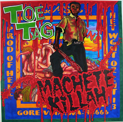 "Toe Tag- Machete Killah 7"" - Bag Of Hammers - Dead Beat Records"