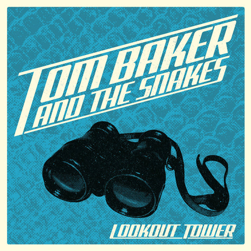 Tom Baker And The Snakes- Lookout Tower LP ~REPLACEMENTS / RARE SKY BLUE WAX!