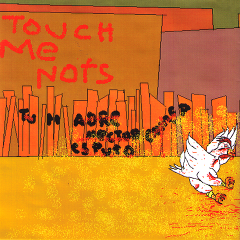 "Touch Me Nots/Red Rockets- Split 7"" ~DIRTYS!"