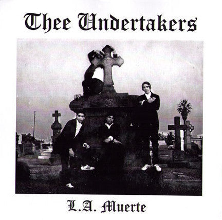 "Undertakers- 'La Muerte' 7"" - Artifix - Dead Beat Records"