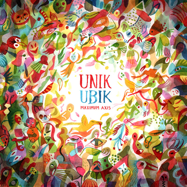 Unik Ubik- Maximum Axis LP