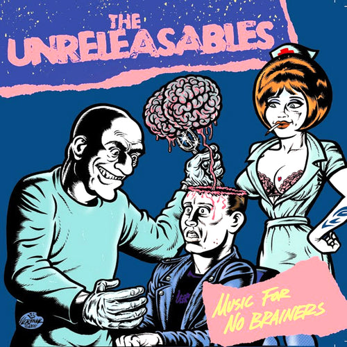 "Unreleasables- Music For No Brainers 7"" ~SURGEON COVER LTD 125!"