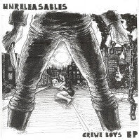 "Unreleasables- Crewe Boys 7"" ~RARE 200 MADE! - Bat Shit - Dead Beat Records"
