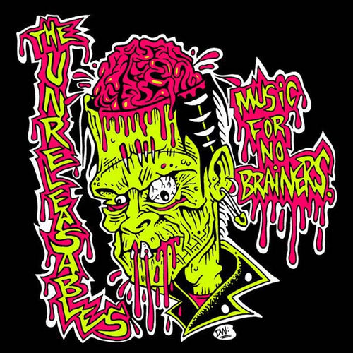 "Unreleasables- Music For No Brainers 7"" ~COVER LTD TO 125!"