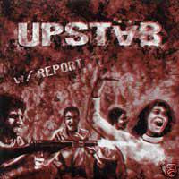 "UPSTAB- 'With Report' 7"" - Even Worse - Dead Beat Records"