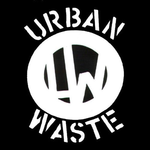 Urban Waste- S/T LP ~RARE YELLOW MARBLE WAX!! - Mad At The World - Dead Beat Records