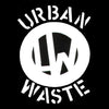 Urban Waste- S/T LP ~RARE GREY MARBLE WAX!! - Mad At The World - Dead Beat Records