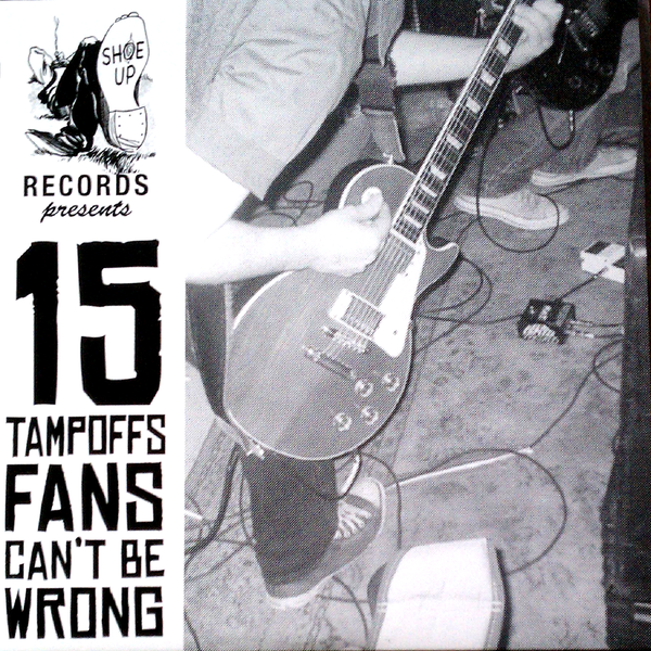 "V/A- 15 Tampoffs Fans 10"" ~TURPENTINE BROTHERS / TOMMY & THE TERRORS !"