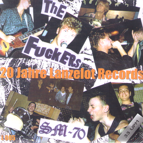 "V/A- 20 Jahre Lanzelot Records 7""~SATANIC MALFUNCTIONS!"