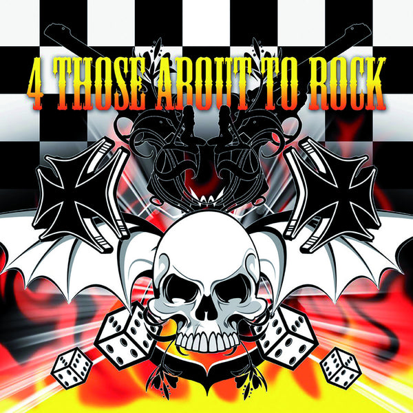 V/A- 4 Those About To Rock CD ~W/ ELECTRIC FRANKENSTEIN + CHUCK NORRIS EXPERIMENT!