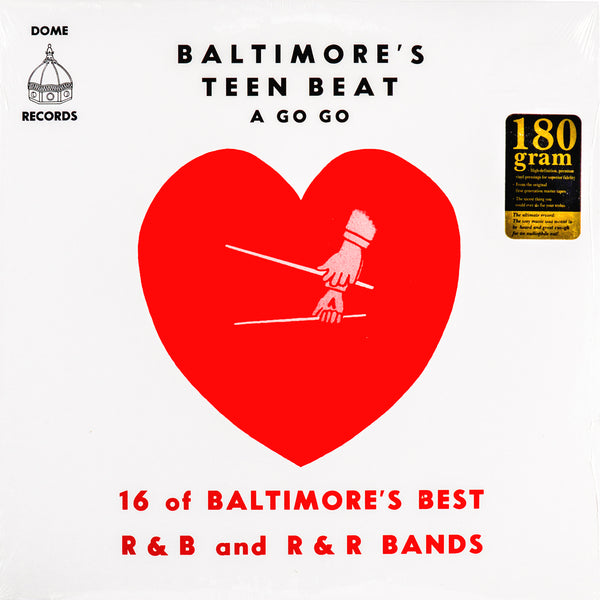 V/A- Baltimore's Teen Beat A Go Go LP ~REISSUE!