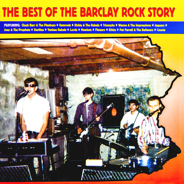 V/A- Best Of The Barclay Rock Story LP ~REISSUE!