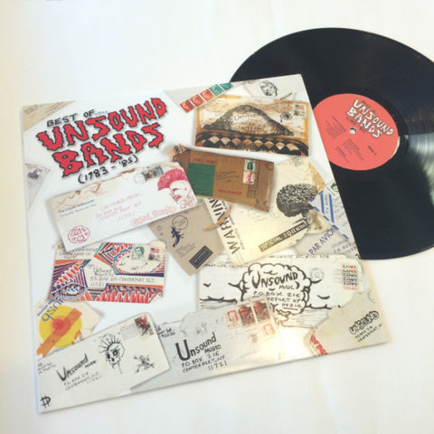 V/A- Best Of Unsound Bands 1983 - '85 LP ~REISSUE! - Welfare Records - Dead Beat Records