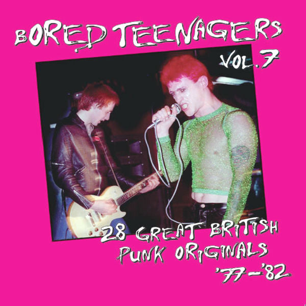 V/A- Bored Teenagers Vol. 7 CD ~REISSUE!