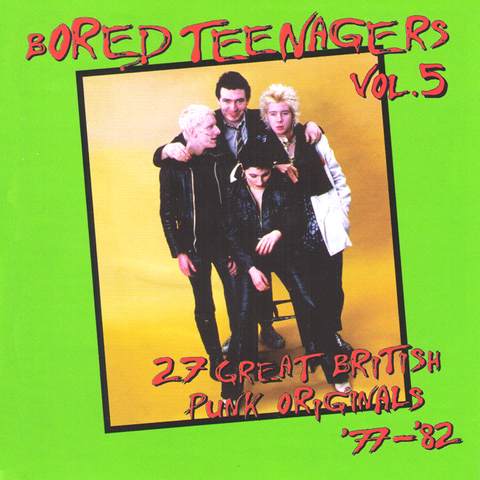 V/A- Bored Teengers Vol. 5 CD ~REISSUE!