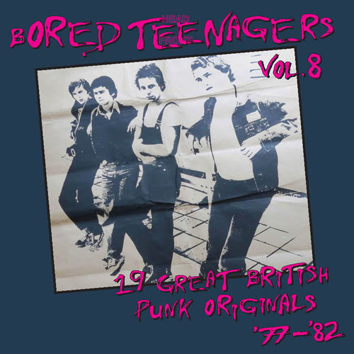 V/A- Bored Teenagers Vol. 8 LP ~REISSUE!