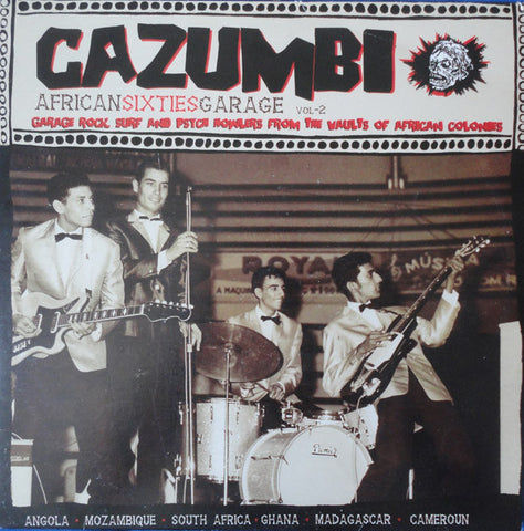 V/A- Cazumbi African Sixties Garage Vol. 2 LP ~REISSUE!