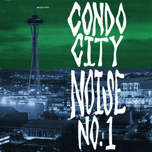 "V/A- Condo City Noise No. 1 7"" ~LTD TO 265 COPIES! - Five-Five Hole - Dead Beat Records"