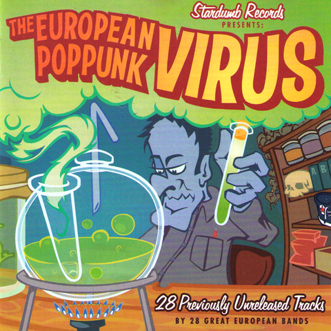 V/A - The European Pop Punk Virus Vol. 1 CD ~APERS/ SONIC DOLLS/ MANGES!