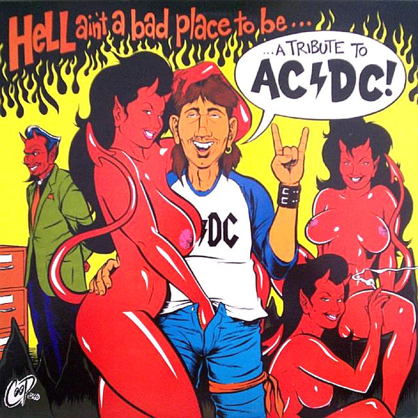 V/A- Hell Ain't A Bad Place To Be CD ~W/ SUPERSUCKERS!