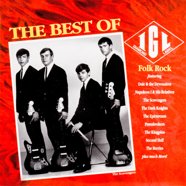 V/A- Best Of IGL: Folk Rock LP ~REISSUE / RARE RED WAX!