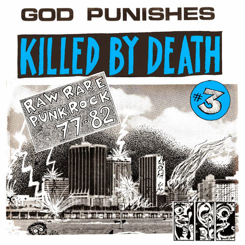 V/A- Killed By Death #3 LP ~REISSUE!